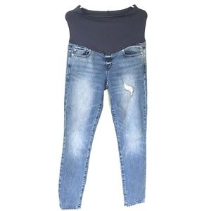 Gap 1969* Maternity Skinny Distressed Jeans 29/8